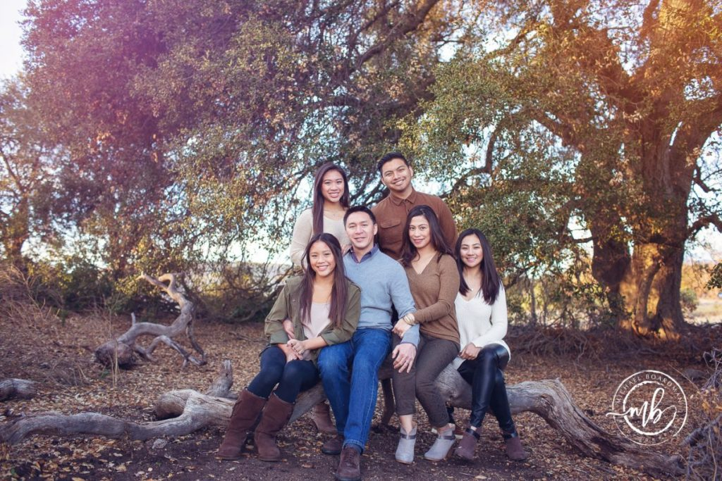 Marin Family Portrait Photographer near Coto de Caza CA