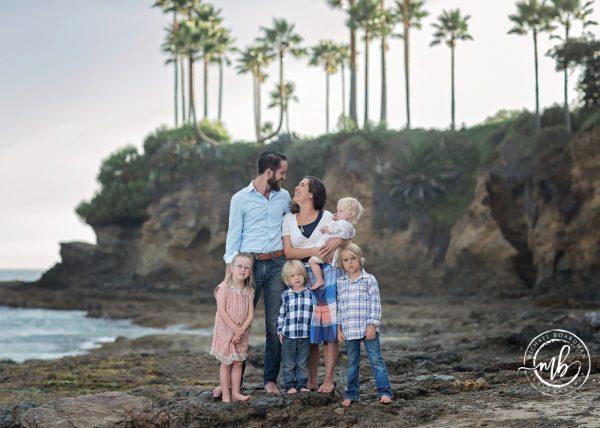 Orange County Family Photographer in Laguna Beach