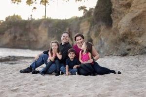Laguna Beach Family Portraits