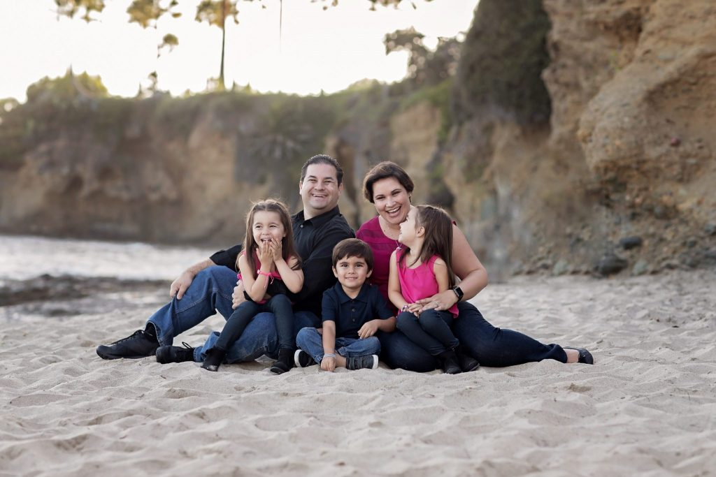 Laguna Beach Family Portraits