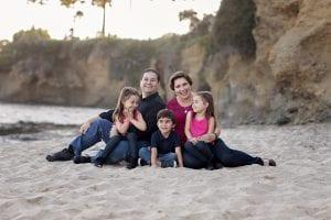 Family Portrait Photographer near Laguna Beach