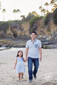 Chung Family Portrait Photographer Laguna Beach