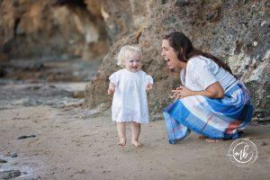 Schannep Family Portrait Session in Laguna Beach