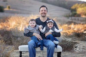Holiday Portrait Photographer near Coto de Caza | Gutierrez Family